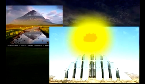 Berg sion stad van god hemels jeruzalem